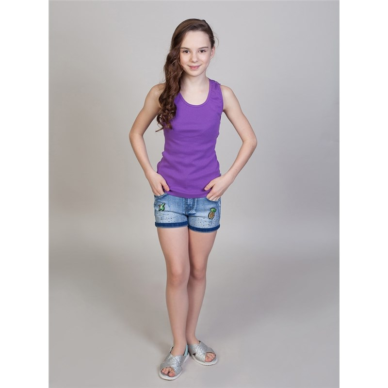 Shorts Sweet Berry Girls denim shorts children clothing kids roll hem destroyed denim shorts
