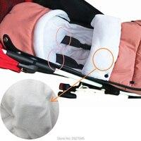 Kinderwagen accessoires Slaapzakken Winter Kinderwagen Handschoen Warme Envelop Sleepsack Kinderwagen Been Cover Fit Babyzen YOYO YOYA 2