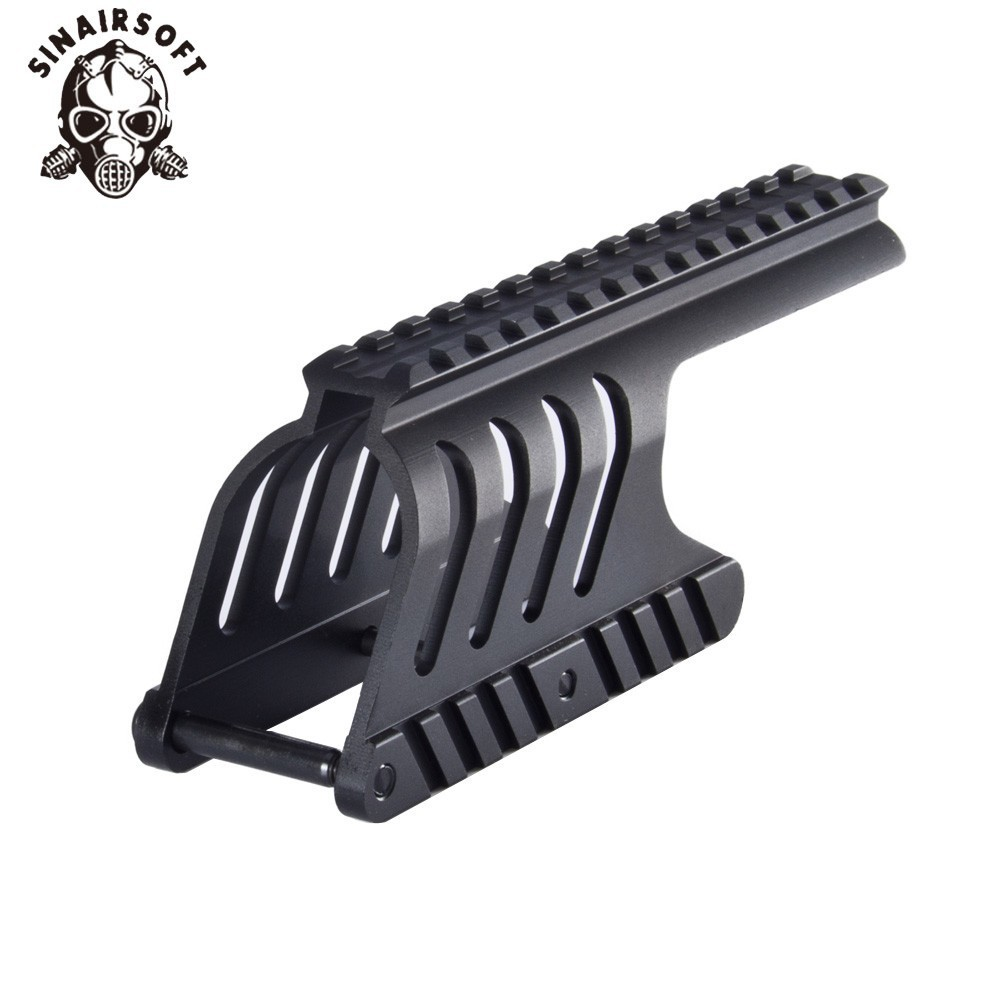 SINAIRSOFT Tactical 20mm Double Rail Mount System Fit For Remington 870 RM870 Musket 12 Ga. Scope Hunting Accessories