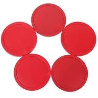 Воздушные хоккейные аксессуары 4 шт. 83 мм красный воздушный хоккейный стол шайбы шайба Mallet Goalies детская настольная игра развлекательные игр...