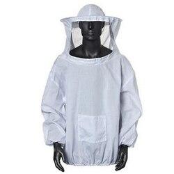 2XL костюм пчеловода с защитой от пчеловодства унисекс защитная одежда для пчеловодства костюм куртка пальто defensa расширяемый с капюшоном то...