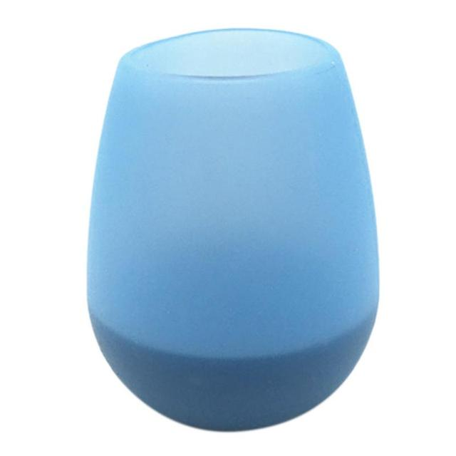 Silicone Red Wine Glass Portable Red Wine Bottle Eco-friendly Anti-fall Anti-skid Water Cup Folding Colorful Beer Container 4