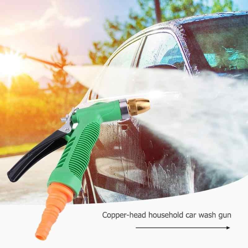 Auto Wassen Gereedschap Planten Watervulpistool Koperen Pistoolkop Wasmachine Nozzle Spuiten Huishouden Wassen Cleaning Spuit Gereedschap
