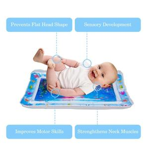 Image 3 - Summer inflatable water mat for babies Safety Cushion Ice Mat Early Education Toys Play Support Dropshipping