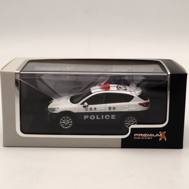 Premium X 1:43 Mazda CX 5 2013 Japanese Police PRD485 Diecast Models Car Limited Edition Collection