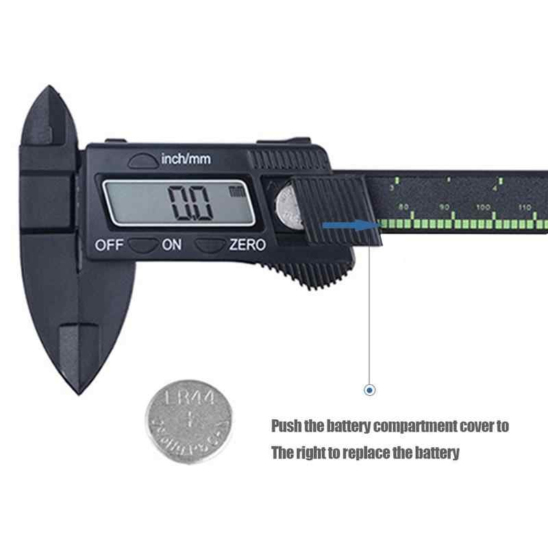 0-6 pouces outil de précision électronique numérique pied à coulisse pachymètre avec écran LCD pouces/millimètre Conversion 150 mm outil de mesure