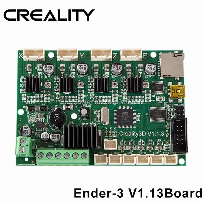 Creality 3D Ender 3 Replacement Mainboardmotherboard Upgrade Version V113 For Ender 3 3D