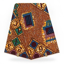 Анкара горячий воск настоящий батик в африканском стиле настоящий голландский воск настоящий для нигерийского шитья пэчворк! 6 двор