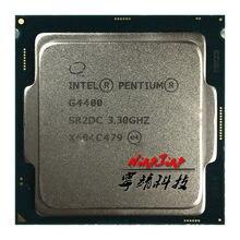 Intel celeron g4400 3.3 ghz duplo-núcleo duplo-thread 54 w processador cpu lga 1151