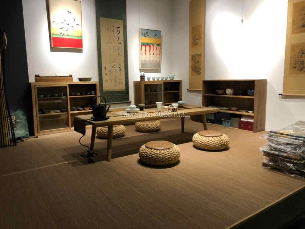Japanese Style Bamboo Tatami Mat Oriental Design Asia Style Zen Floor Yoga Mattress Rug For Sleeping Bedroom Fiber Carpet Aliexpress