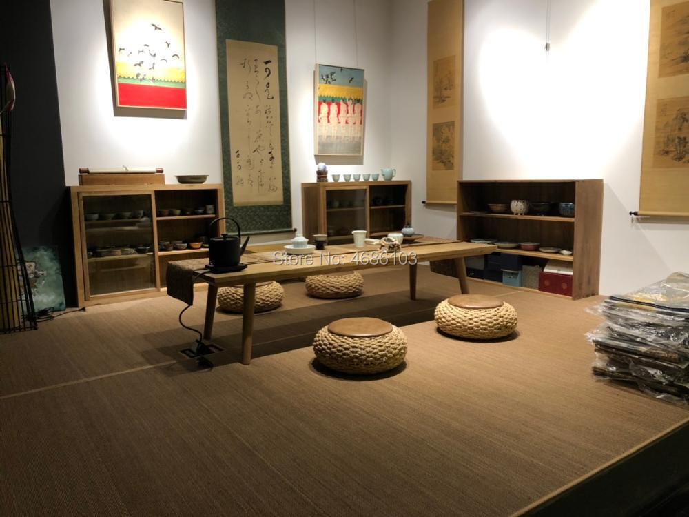 Коврик в японском стиле бамбуковое татами, ковер для йоги в Восточном и азиатском стилях для спальни