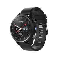 Kospet надежда 4G с Bluetooth для приставки Android 7.1.1 1,39 дюймов нажатие на экран 3 ГБ + 32 ГБ Ip67 Водонепроницаемый Mt6739 Камера Gps Бизнес Смарт часы