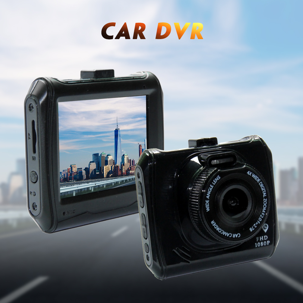 Car Accessories DVR Dash Camera Recorder 1080P HD Support 32GB Card Dashboard Driving Video