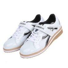 Профессиональная Обувь для тяжелой атлетики; спортивные кожаные кроссовки для тяжелой атлетики; нескользящие ботинки для тяжелой атлетики; A9060