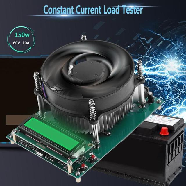 150W 60V 10A Constant Current Electronic Load Battery Tester Discharge Capacity Tester Constant Current Load Tester