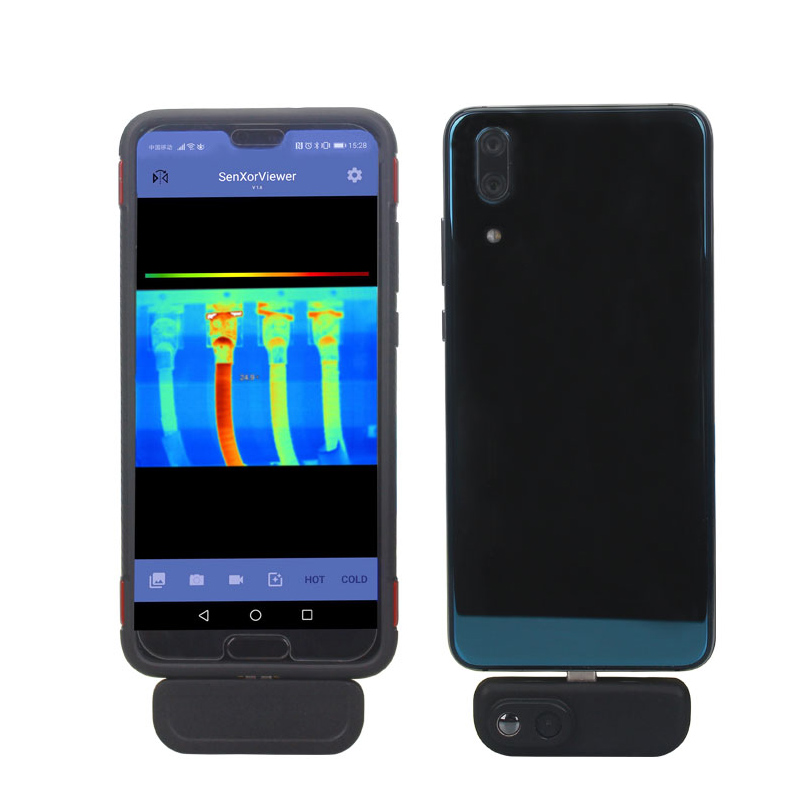 Wildgameplus WG201 Thermal Imaging Camera Support Android APP Industry Thermometer 640 Resolution Thermal Imager Cameras