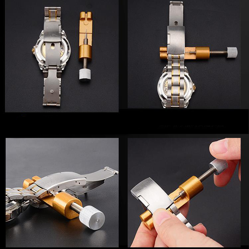 Watch Repair Wristwatch Pin Watchband Watch Chain Link Remover Wrist Chain Strap Adjusting Repair Tool Regulator