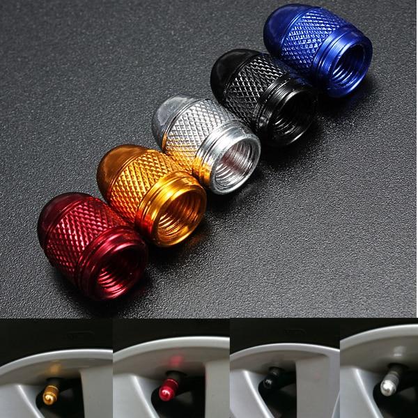 2PC Valve Stem Cap Neon LED Light For Bike Bicycle Motorcycle Car Wheel Tire QL