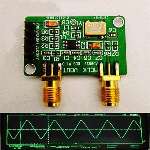 AD9833 DDS Signal Generator Module Square / Triangle / Sine Wave + LPF filtering