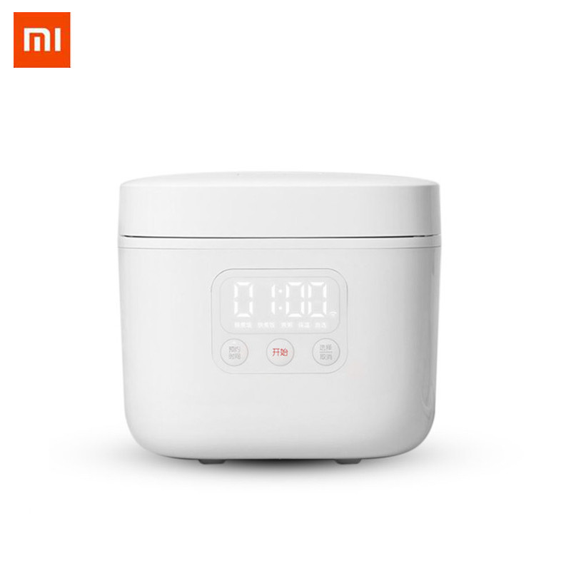 Xiaomi Mijia Electric Rice Cooker 1.6L Alloy mini multicooker kitchen appliances APP WiFi Intelligent Appointment LED Display