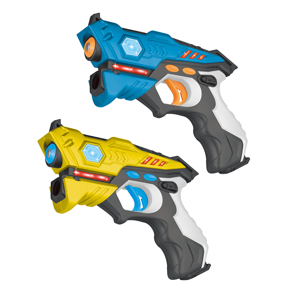 4 Pcs/lot Infrarouge Laser Tag Blaster Laser Bataille Pack Intérieur et Extérieur Activité Familiale jouets pour Enfants Adultes drop Shipping - 6