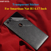 "For Smartisan Nut R1 6.17"" Full Cover Back Body Carbon Fiber / Grid Sticker Durable Transparent Side Screen Protector Film(China)"