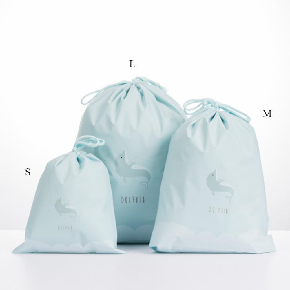 Women Cute Beauty Waterproof Drawstring Makeup Cosmetic Travel Toiletry Bag Packing Organizers Bags Animals