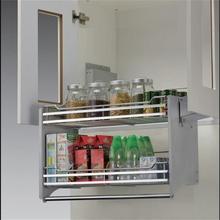 Gabinete Rangement Pantry Dish Drainer Cestas Corredera Stainless Steel Hanging Cuisine Organizer Cozinha Kitchen Cabinet Basket