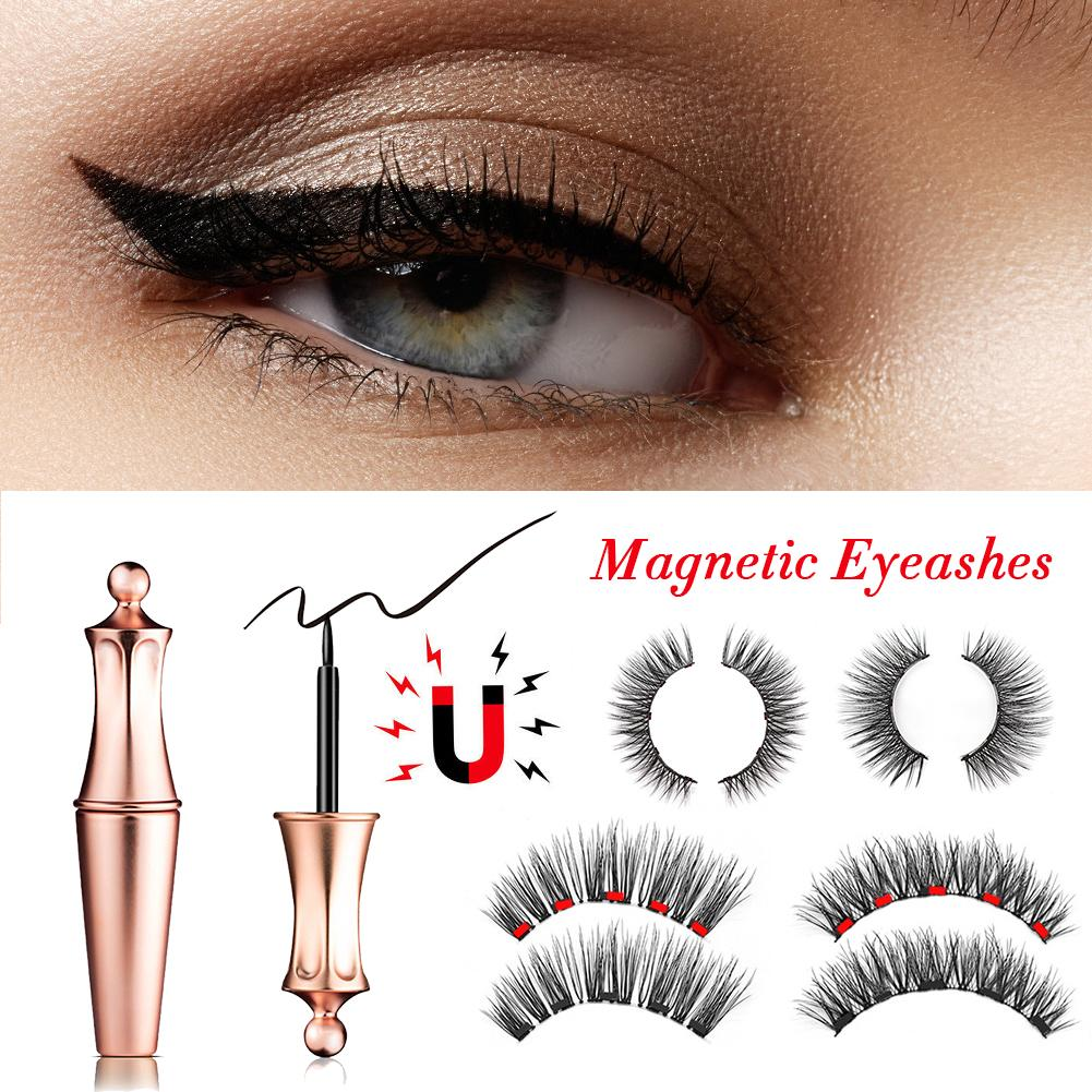 Magnetic Eyeliner Magnetic Eyeashes Tweezer Kit Waterproof Fast Drying Easy To Wear Long Lasting Liquid Eyeliner False EyelashesMagnetic Eyeliner Magnetic Eyeashes Tweezer Kit Waterproof Fast Drying Easy To Wear Long Lasting Liquid Eyeliner False Eyelashes