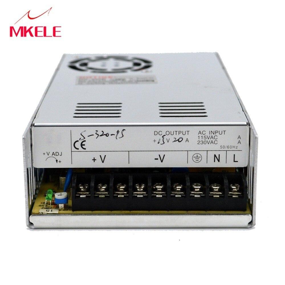 24 volt alimentation 320 W ac-dc 24 v alimentation à découpage S-320-24 puissance suply 24 v alimentation à découpage 24 v