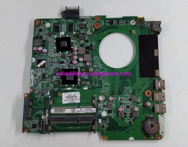 Genuine 734821 001 734821 501 734821 601 w HD8670M/1G A6 5200 DA0U93MB6D0 Laptop Motherboard for HP 15 N Series NoteBook PC