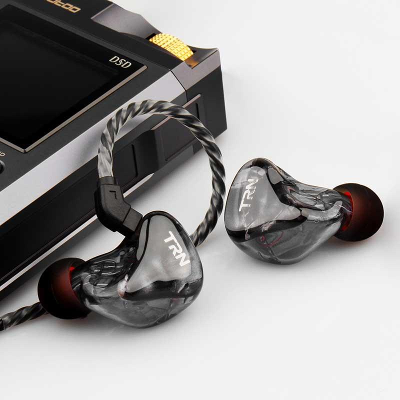TRN X6 6BA Earphone 6 Balanced Armature Driver Unit HIFI Ergonomics Design Earbud Headset With Microphone