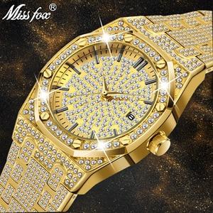 18K Gold Watch Men Luxury Bran