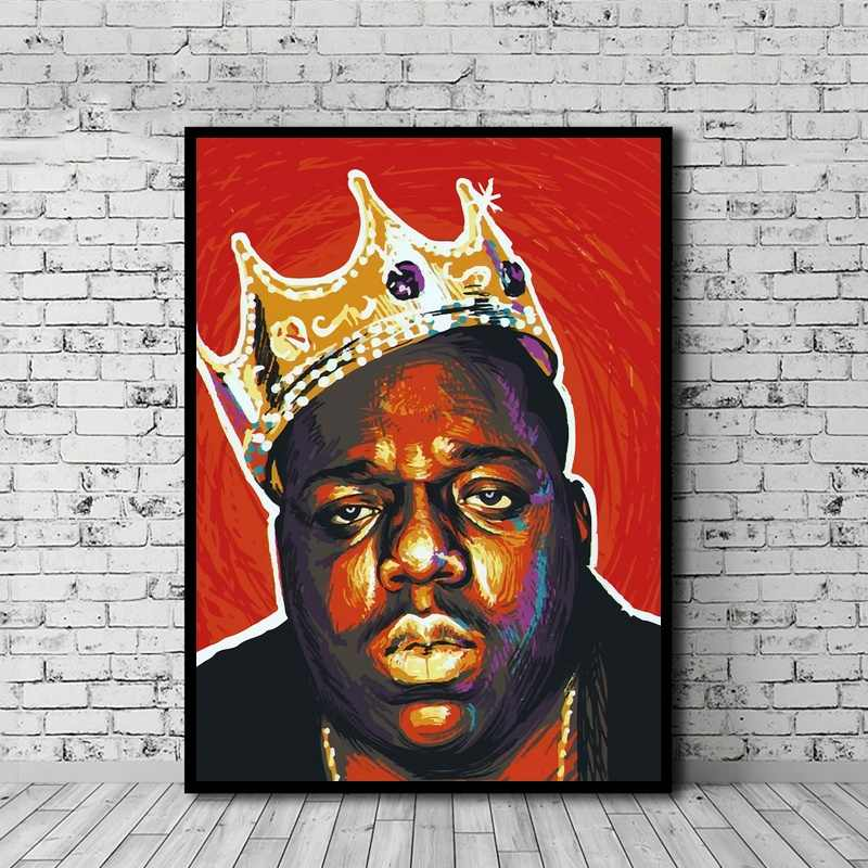 the notorious big biggie poster canvas