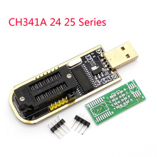 USB Programador de Série CH341A 24 25 Escritor EEPROM SPI Flash BIOS Placa do Módulo USB para TTL 5 v-3.3 v Unidade Driver de Software