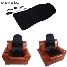 Multifunctional Home Car Massage Chair Neck Pain Lumbar Support Pad Back Massager Body Massage Heat Mat Seat Cover Cushion multifunctional aberration massage rods lumbar lumbar vertebral massage body whole body electric massager massage