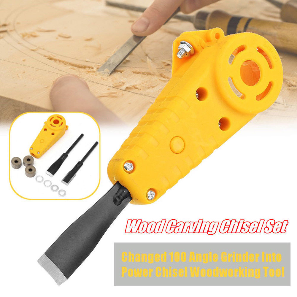 Wood Carving Chisel Set 100 Angle Grinder Into Power Chisels