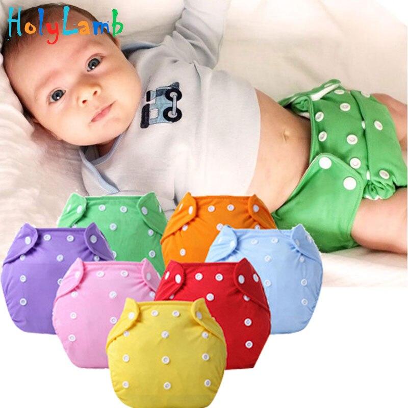 1gab / partija Bērnu zīdaiņu organiskā krāsaina 100% kokvilnas - Autiņbiksītes un tualetes apmācība