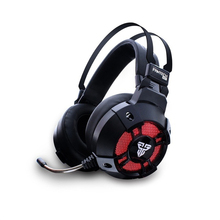 CATS Fantech Hg11 Virtual 7.1 Channel Surround Bass Stereo Gaming Headphones Noise Cancelling Led Headphones Over-Ear 3.5Mm He
