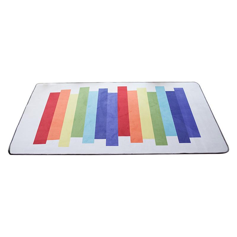 Multi-fonctionnel bébé jouer tapis nouveau-né infantile enfant ramper tapis carré Rectangle arc-en-ciel couverture tapis de sol taille 100*150 cm
