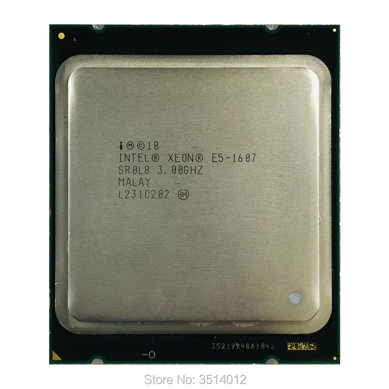 Intel Xeon E5-1607 E5 1607 3.0 GHz Quad-Core Quad-Thread CPU Processor 10M 130W LGA 2011