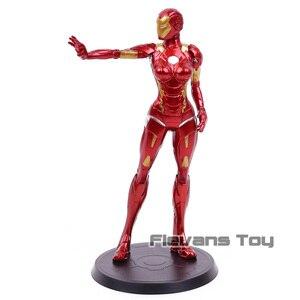 Image 3 - Super herói stark indústrias x faction ferro senhora pimenta potts mk8 pvc figura de ação collectible modelo brinquedo