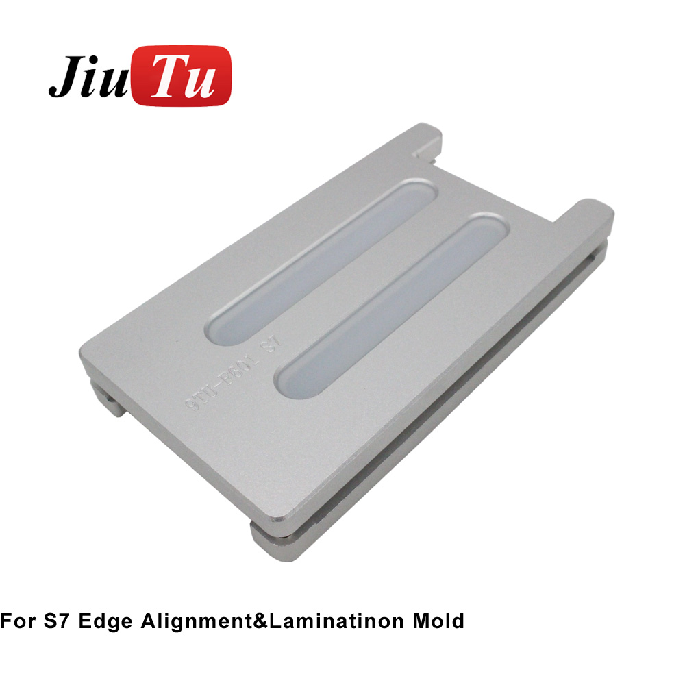 Jiutu Laminating Machine Mold For Samsung S8 Plus S9 Unbent Flex Mold LCD OCA Glass Laminating