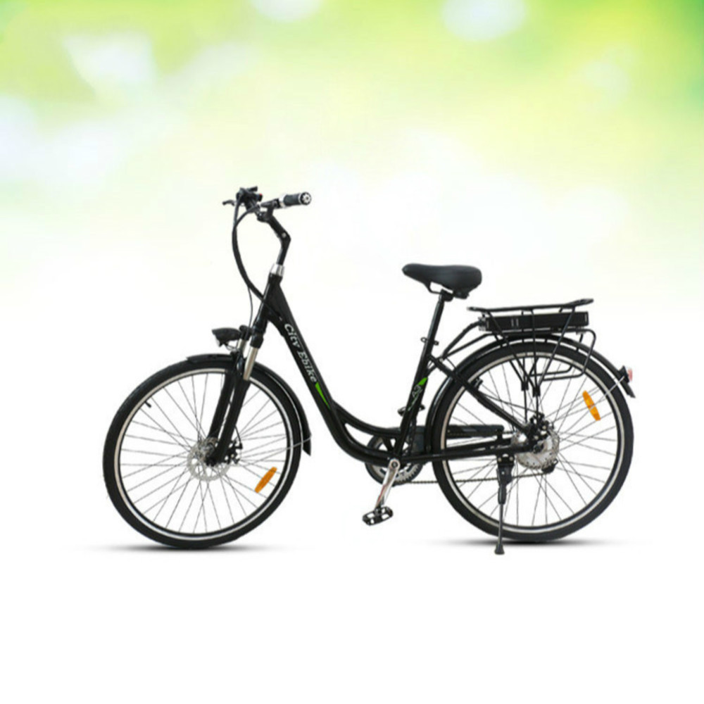 AD0300026 Motor-driven Bicycle Adult Vehicle Two Car Wheel Sole 700C 21 Speed City Electric