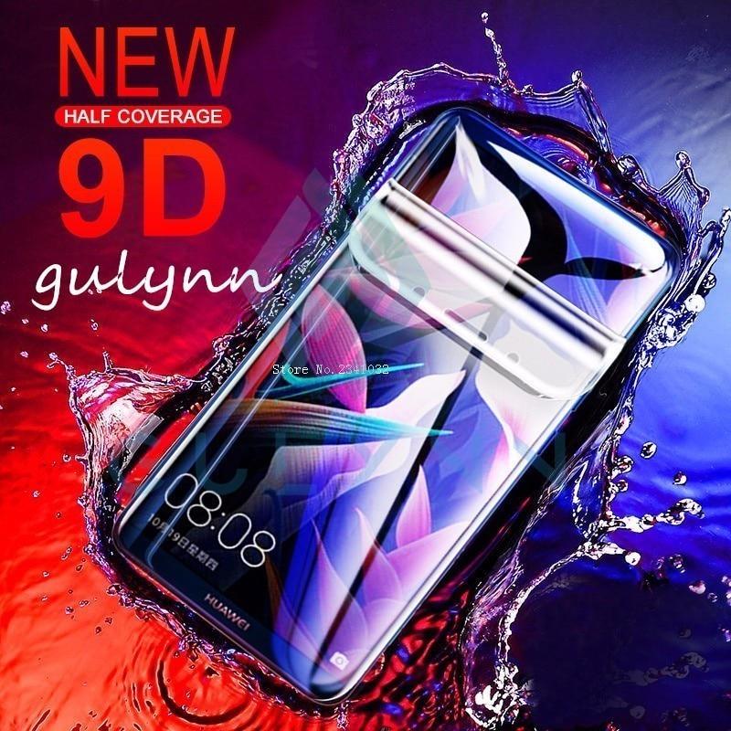 GUOSHU Premium Tempered Glass Screen Film 100 PCS 0.26mm 9H 2.5D Tempered Glass Film for Huawei P30 Lite Anti-Scratch Screen Protector