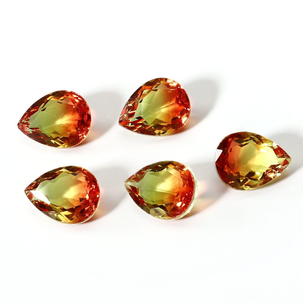 5 Pcs 7x9MM Loose Gemstones 2.5-3.5 Ct  Tourmaline Stones Top Brand Decoration Stone Fine Jewelry Accessories Wholesale