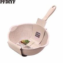 Утолщенная Нижняя медицинская каменная сковорода, многофункциональная сковорода с антипригарным покрытием, глубокая нуга, кастрюля с большим горлом, сковорода с стеклянной крышкой