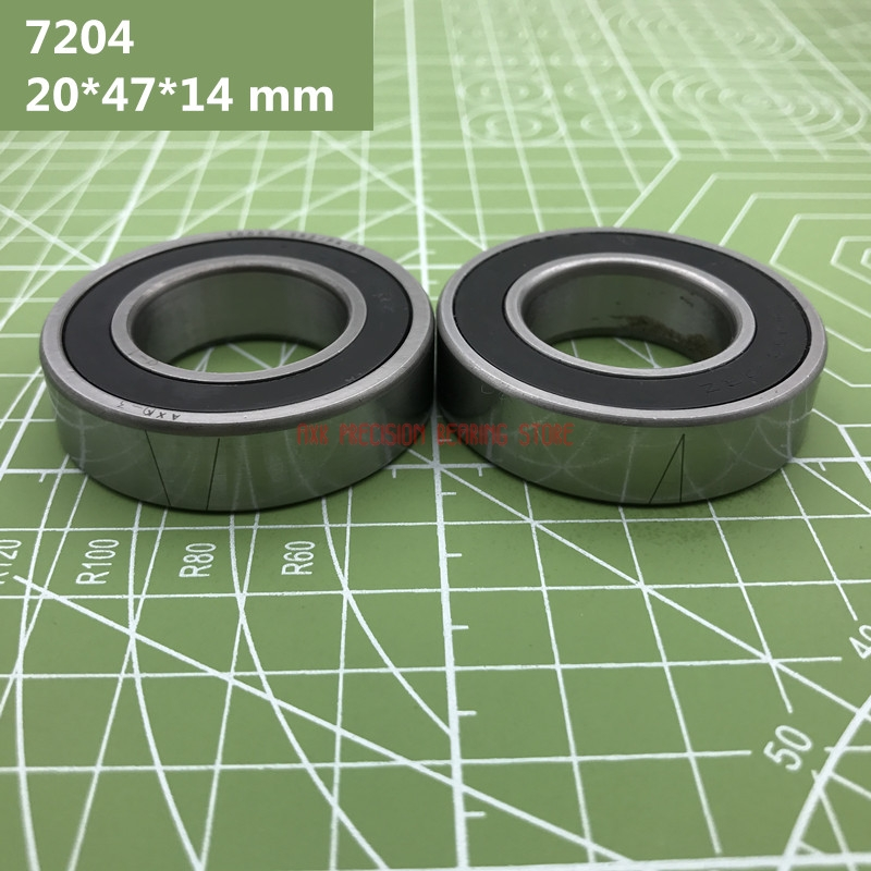 2019 High Quality 1 Pair 7204 7204c-2rz-p4-dba 20*47*14 Mm Sealed Angular Contact Speed Spindle Bearings Cnc Engraving Machine2019 High Quality 1 Pair 7204 7204c-2rz-p4-dba 20*47*14 Mm Sealed Angular Contact Speed Spindle Bearings Cnc Engraving Machine
