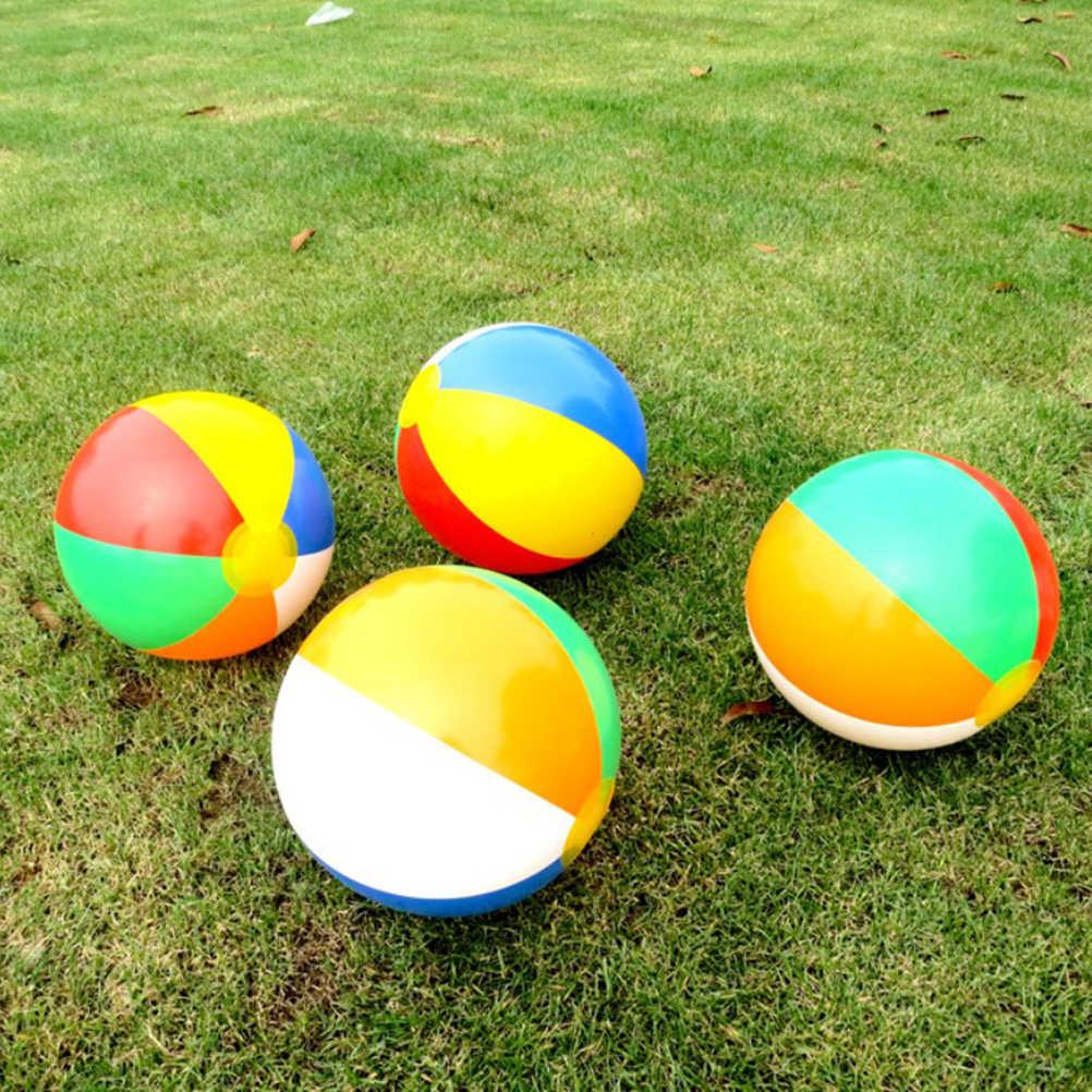 12 шт надувные пляжные мячи для бассейнов вечерние детские пляжные игрушки