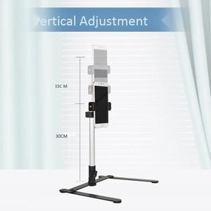 Image 5 - צילום מתכוונן שולחן למעלה Stand סט מיני חדרגל + טלפון קליפ למלא אור שליטת Bluetooth